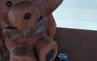 Painted pet roack appeared at Tambo Teddies