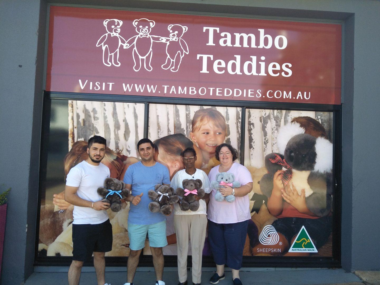 regional sewing hub tambo teddies teddy bears