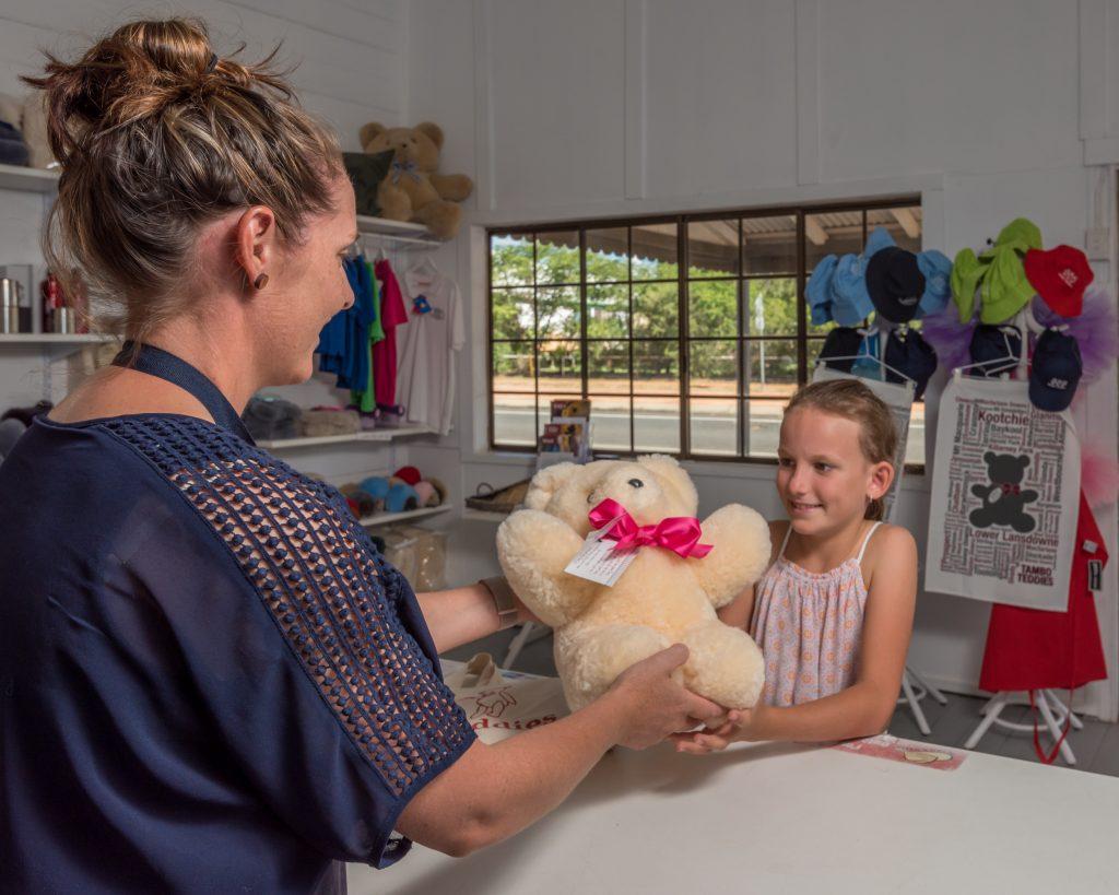 Shopping for Teddy Bears at Tambo Teddies