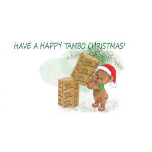 Tambo Teddies Christmas Card