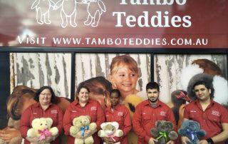 Tambo Teddies Multicultural regional sewing hub