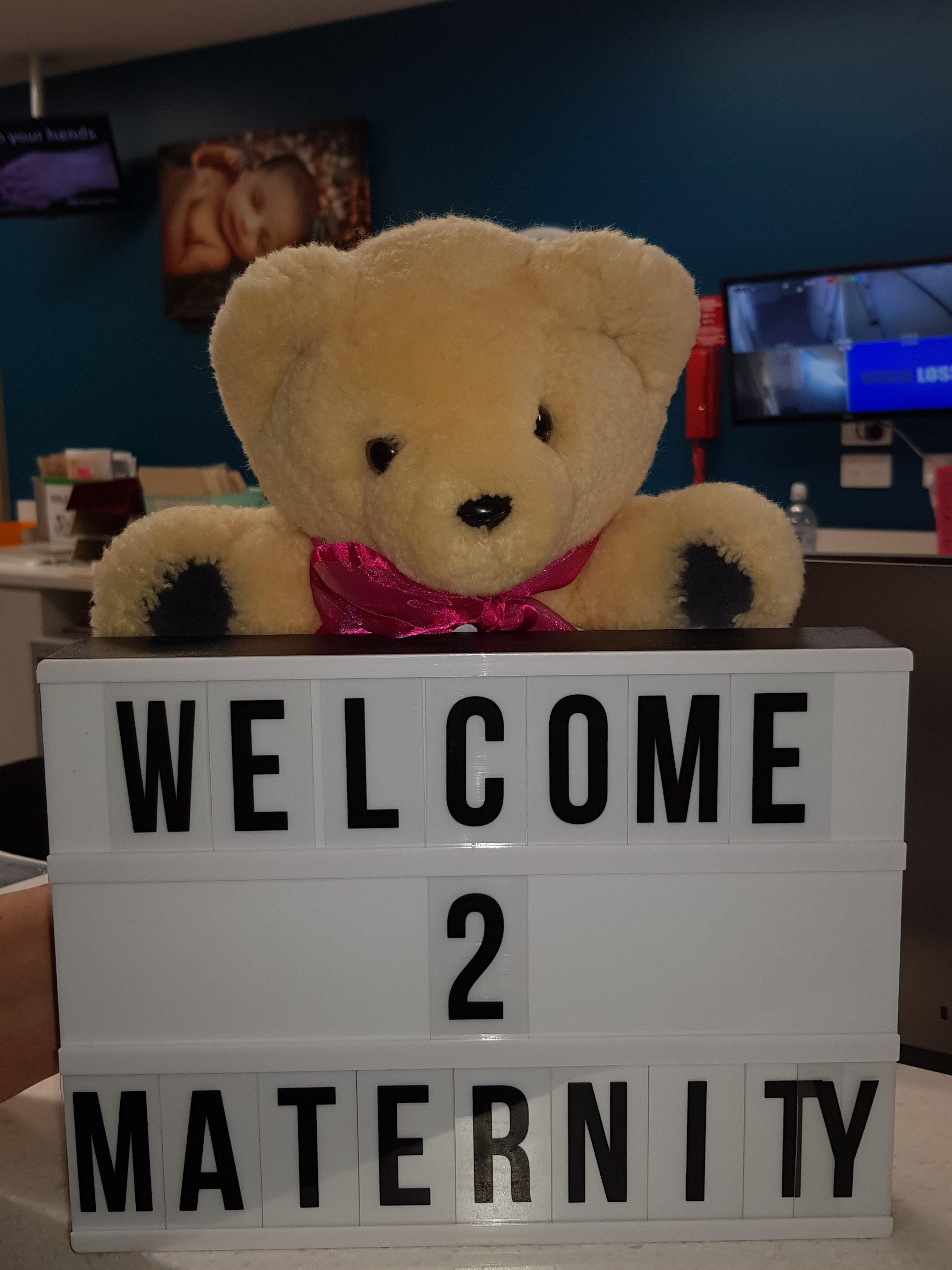 Tambo Teddy Matilda Maternity Bear