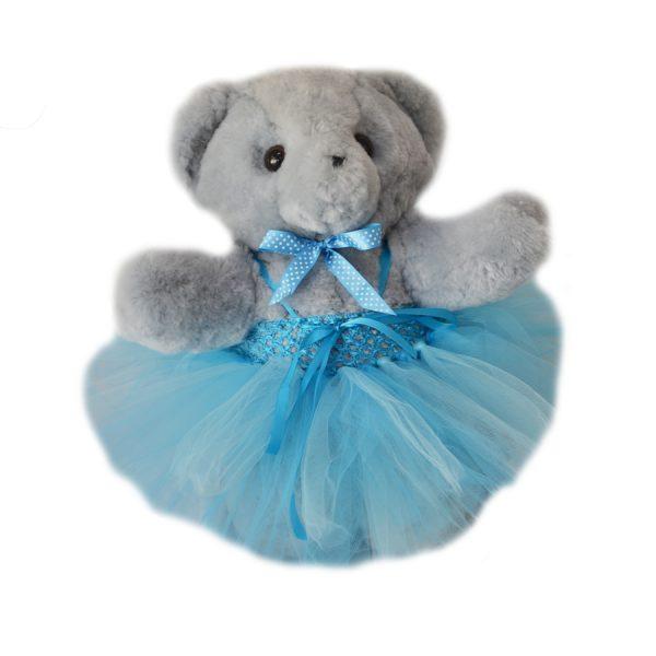 Blue Tambo teddy tutu