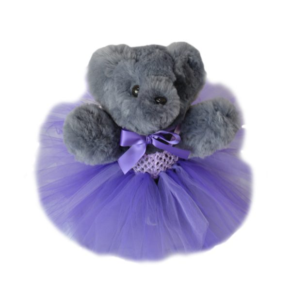 Purple Tambo teddy tutu