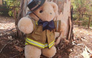 Tambo Teddy Fire Fighter Bear