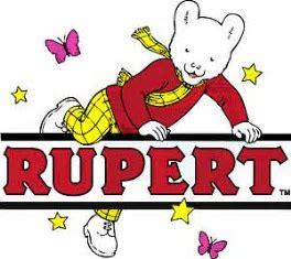 Rupert teddy bear