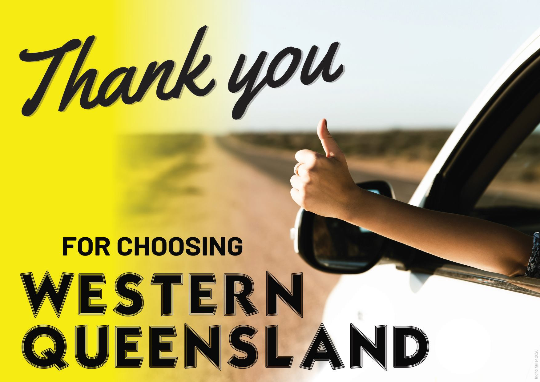 Thank you from Western Queensland